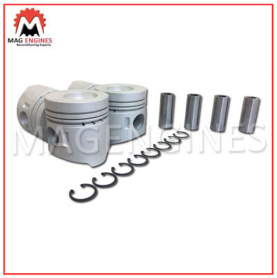 Piston & Ring Set Mitsubishi 4D32 For Canter Fuso Truck 3.6 Ltr Diesel