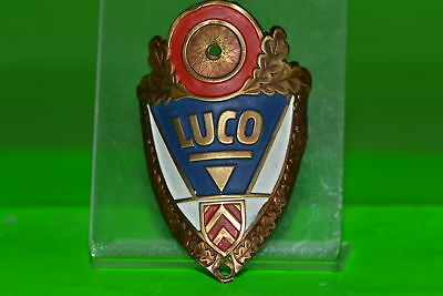 Vintage bicycle - Tablet Logo of the manufacturer-Luco-4536