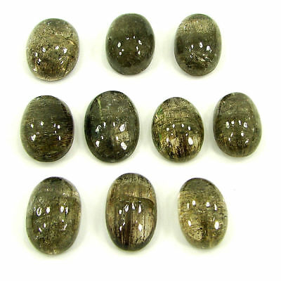 82.10 Ct Natural Scapolite Loose Cab Gemstone Wholesale Lot of 10 Pcs- 17519