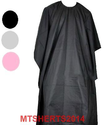Large Adults Hairdressing Cutting Colouring Cape Gown Waterproof 140cm GD47