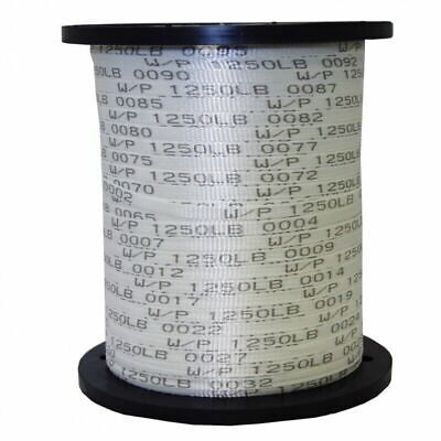 """USA Made 1/2"""" x 3000' 1250 Lb Polyester Mule Tape / Pull Tape"""