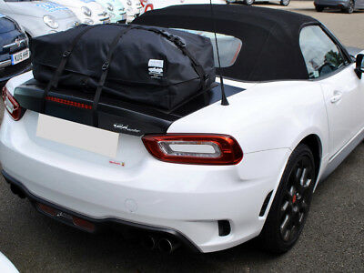 Fiat/Abarth 124 Spider Luggage Rack/ Deck Rack - boot-bag vacation