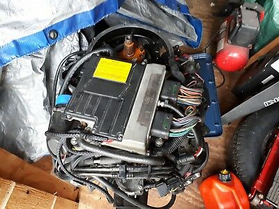 119 hp motor no bottom end lots of good parts for sale or make offer on all
