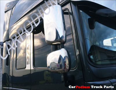 DAF XF 105 ( new model ) CHROME MIRROR COVER ''STAINLESS STEEL'' 4 pcs.