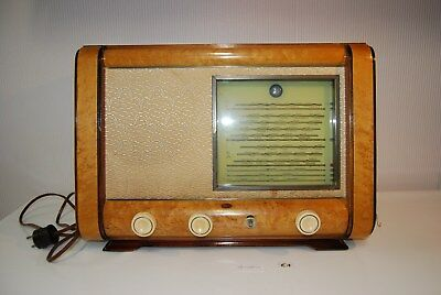 E1 Ancienne radio SBR - vintage old radio 861 A