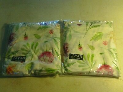 2 cover lot LAYAN BABY CARE BREAST FEEDING NURSING COVERS white floral