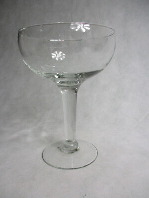 "Very Large  BabyCham style Glass 10.5"" Tall 7.5"" Dia Oversize Glass"
