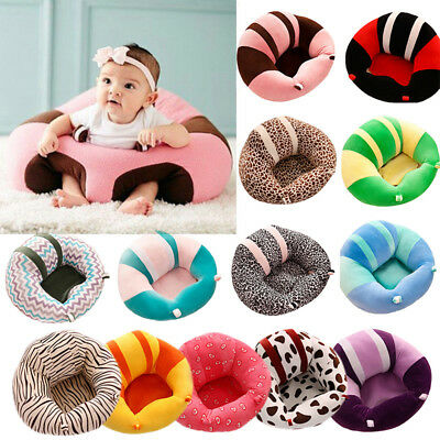 Kids Baby Support Seat Sit Up Soft Chair Cushion Sofa Plush Pillow Toy Bean Bag
