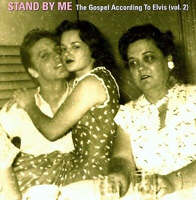 Rare Elvis Presley Import Cd - Stand By Me - The Gospel According To Elvis -2001