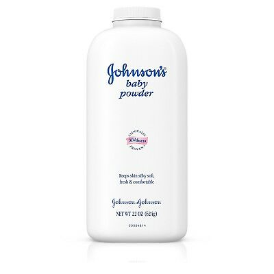 Johnson's Baby Powder, Classic Scent Pure talc formula 22 Oz. (Pack of 3)