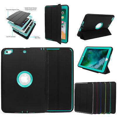 For New iPad 6th Gen 9.7 inch 2018 / 5th Gen 2017 Wake/Sleep  Case Cover Stand