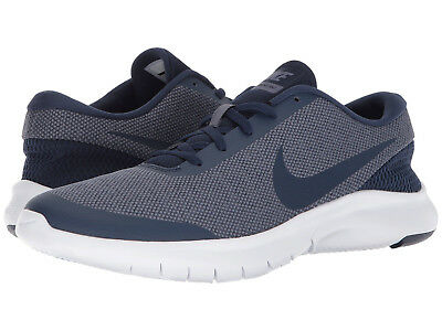 d6b8e17d008a2 Nike FLEX EXPERIENCE RN 7 Mens Navy 400 Running Athletic Training Lace Up  Shoes