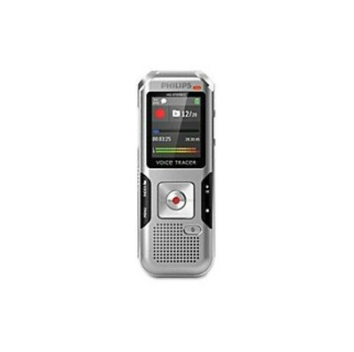 """Philips Voice Tracer Audio Recorder - 8 GBmicroSD Supported - 1.8"""" LCD - MP3,"""