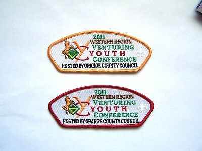 Orange County Council Western Region Youth Conference Host CSP's  SA - 308 & 309