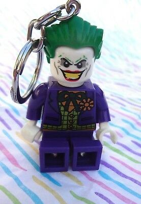 DC Universe The Joker Key Light LEGO Key Chain Flashlight