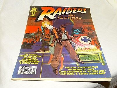 RAIDERS of the LOST ARK  # 18 - 1981 MARVEL SUPER SPECIAL MAGAZINE Free Shipping