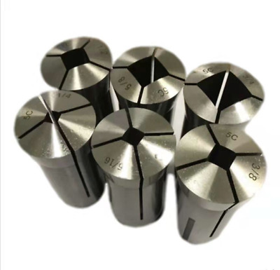 5C Square Collet Set - 6 pcs