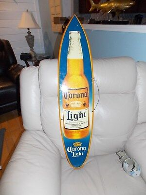 corona light beer surf board /sign