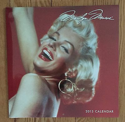 Marilyn Monroe 2013 Calendar New In Shrink Wrap