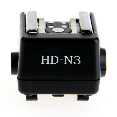 HD-N3 Hot Shoe Adapter Converter PC Sync Socket For Sony A700 convert to Canon