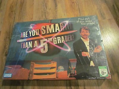 2007 Are You Smarter Than A 5Th Grader Vintage Board Game Factory Sealed Fifth