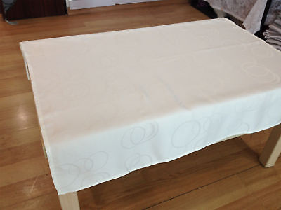 Table cloth cover linen Damask elegant Jacquard