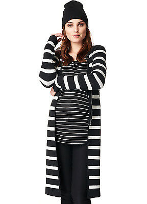 NEW - Noppies - Imke Long Knit Maternity Cardigan - Pregnancy Clothes