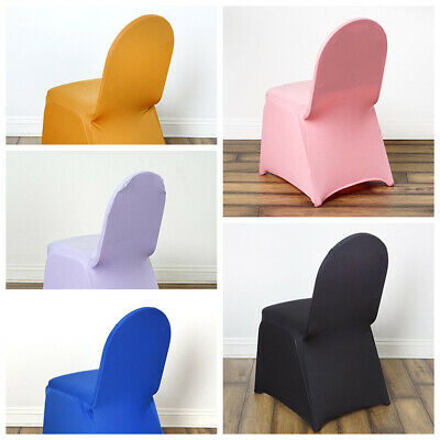 50 Pcs Spandex Stretchable Chair Covers Wedding Reception Party