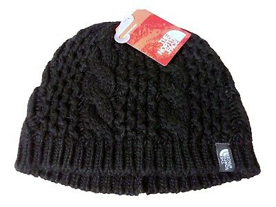 ebb6b50d9df New Women s The North Face Black Cable Minna Beanie Skullie One Size NWT