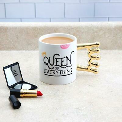 The Queen of Everything Oversized Crown Handle Mug