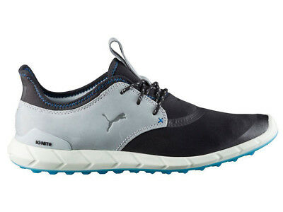 Puma Ignite Spikeless Sport Golf Shoes - Black/Quarry
