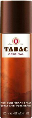 Tabac Original Mens Deodorant Anti Perspirant Protection Body Care Spray 200ml