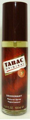 Tabac Original Mens Deodorant Natural Spray Long Lasting Protection 100ml