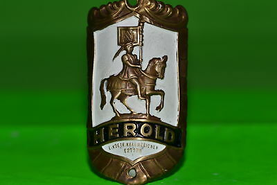 Vintage bicycle - Tablet Logo of the manufacturer-Herold -4540