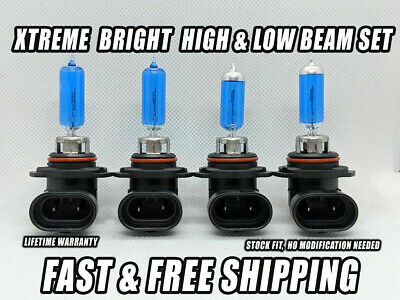 XTREME BRIGHT HEADLIGHT Bulb For Chevy Tahoe 1995-2006 High & Low