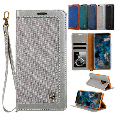 Flip Leather Wallet Card Slot Stand Cover Case For Samsung Galaxy S9 Plus Note 8