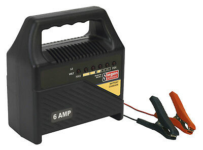 Sealey S0548 Battery Charger 12V 6Amp Automatic 230V