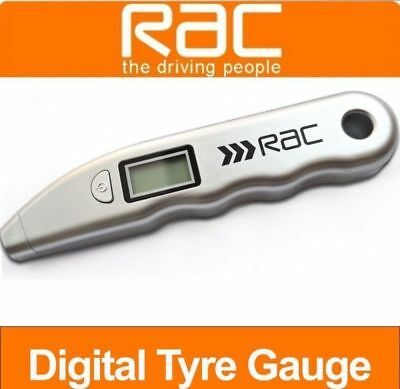 LCD Digital Tyre Air Pressure Gauge PSI Tester Tool For Auto Car Motorc