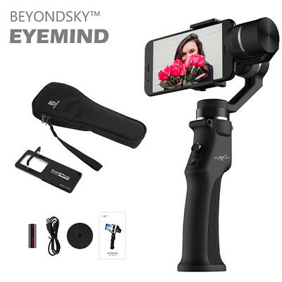 Eyemind 3-Axis Handheld Mobile Gimbal Stabilizer for Smartphone Action Camera