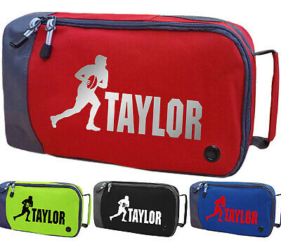 Personalised Childrens Rugby Boot Bag Kids Sports Sport Football Pe Kit Gift