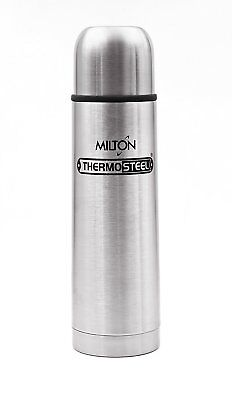 Milton Thermos Bottle 1 Litre Silver Thermos Cold & Hot Water Bottle