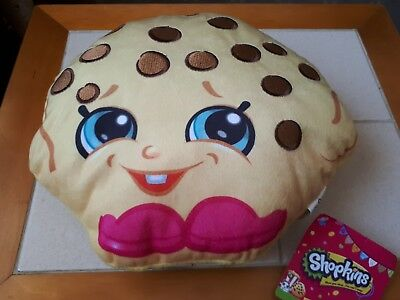 Shopkins Cookie Cookie Soft Plush Cushion Brand New