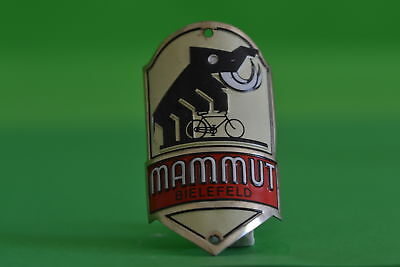 Vintage bicycle - Tablet Logo of the manufacturer-Mammut-4549
