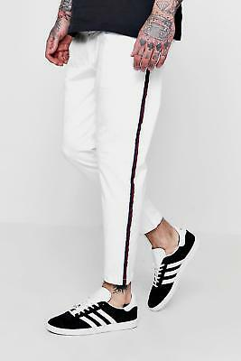 31e5c2f071ca BOOHOO MENS JOGGER Style Chino With Taping - $50.00   PicClick