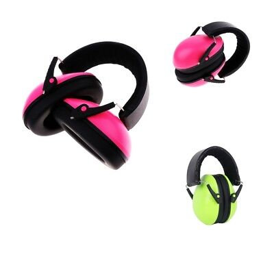 2Pcs Professional Padded Head Band Ear Defenders Ear Muffs NRR 25DB For Baby