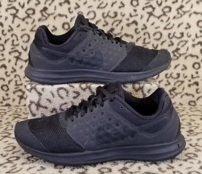 37b1c559905 Nike Downshifter 7 Youth Kids Athletic Shoes Size 5.5Y All Black 869969 004