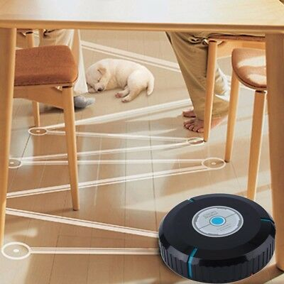 Pure Clean Automatic Self Navigated Smart Robot Vacuum Sweeper Cleaner Home