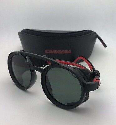 ad87094297c New Sunglasses CARRERA 5046 S 807QT 49-24 Matte Black w Side Shields