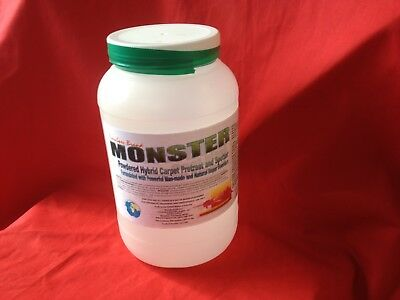 TennSpec Monster Powdered Carpet Cleaning Traffic Lane Prespray Pretreat 8# Jar