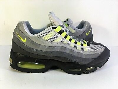 uk availability d27ed 4ab9f Nike Air Max  95 Cool Grey Neon Yellow 2004 609048-072 Men s Size